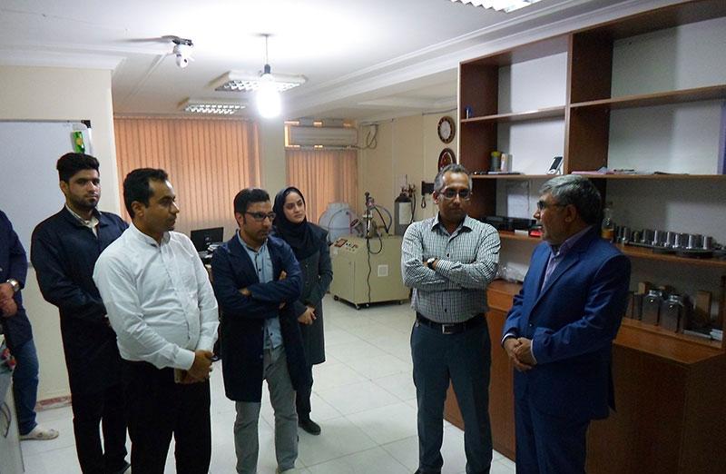sahel anamis11 1 - بازدید مدیران از آزمایشگاه ساحل آنامیس
